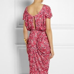 Saloni Apsara Printed Jersey Dress